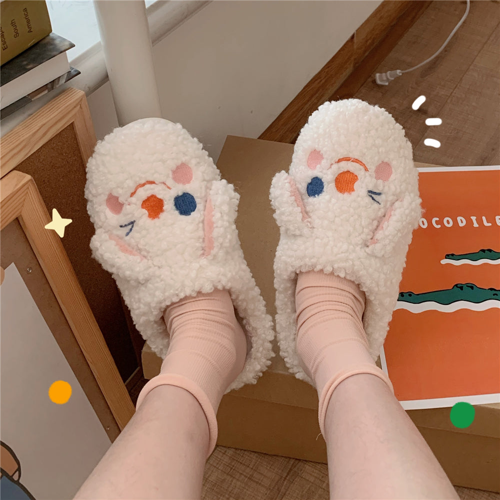 Witty Socks™ Bunny Slippers