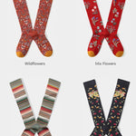 Witty Socks™ Botanical Collection