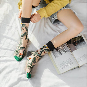 Women | Witty Socks ™ Garden Collection