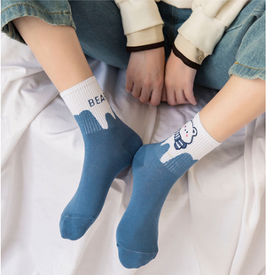 Witty Socks™ Lazy Bear Collection