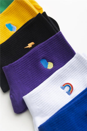 Women | Witty Socks™ Rainbow Collection