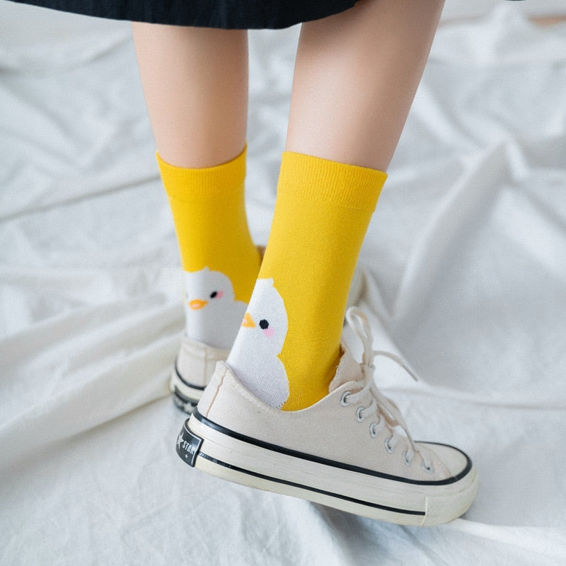 Women | Witty Socks™ Chuckling Duckling Collection