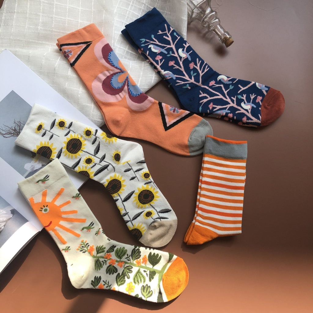 Women | Witty Socks™ Sunflower Collection