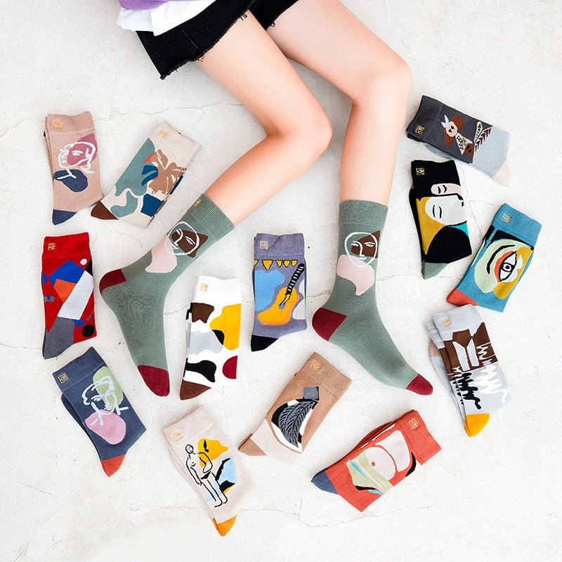 Women | Witty Socks™ Graffiti Collection