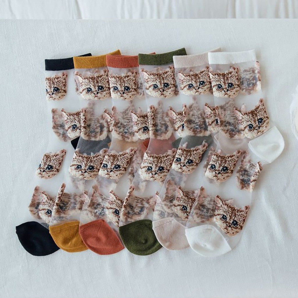 Witty Socks ™ Kitty Cat Collection