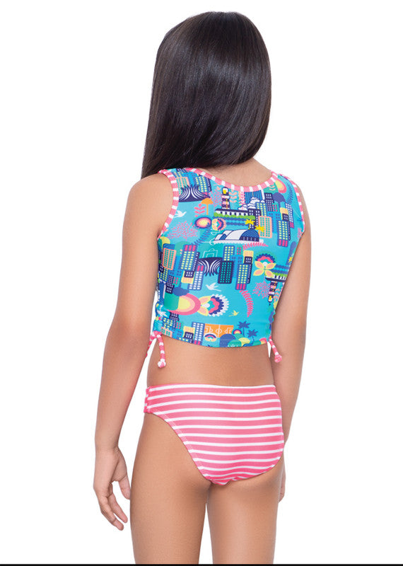 Tankini Top Clásico con Panty City