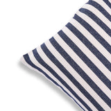 Blue White 12 x 20 Printed Cotton Striped Throw Sofa Couch Bed Cushion Cover Living room Christmas Decor Bohemian Decor Rustic Pillow Cases