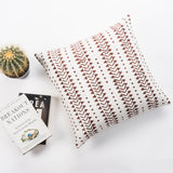 Brown Mud Cloth Pillow cover 19 x 19 Block Printed Throw Pillowcase Boho Decor cotton Cushion African mudcloth Pillow Tribal Cushion Cover
