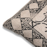 Bohemian Handmade Indian Dhurrie Pillow 20 x 20 Printed Throw Cushion Cover Sofa Pillow Cover Decorative Couch Cushion Rustic Rug Pillow
