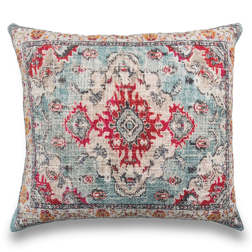Handmade Bohemian Printed Cotton Pillow Cover Decorative Cushion Cover Throw Pillow Sofa Pillow Boho Chic Pillow Christmas Decor Pillow