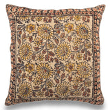 Bohemian Handmade Indian Dhurrie Pillow 20 x 20 Printed Throw Cushion Cover Sofa Pillow Cover Decorative Couch Cushion Christmas Decor