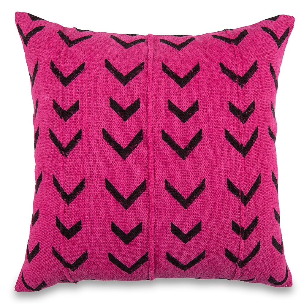 Pink African mud cloth Pillow 18 X 18 Mud-Cloth Throw Pillowcase Block Printed Pillow cover Cotton Cushion Tribal Cushion Cover Home pillow