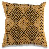 Mustard Yellow 18 x 18 Mud Cloth Throw Pillowcase Block Printed Pillow cover Cotton Cushion African mud cloth Pillow Tribal Cushion Cover