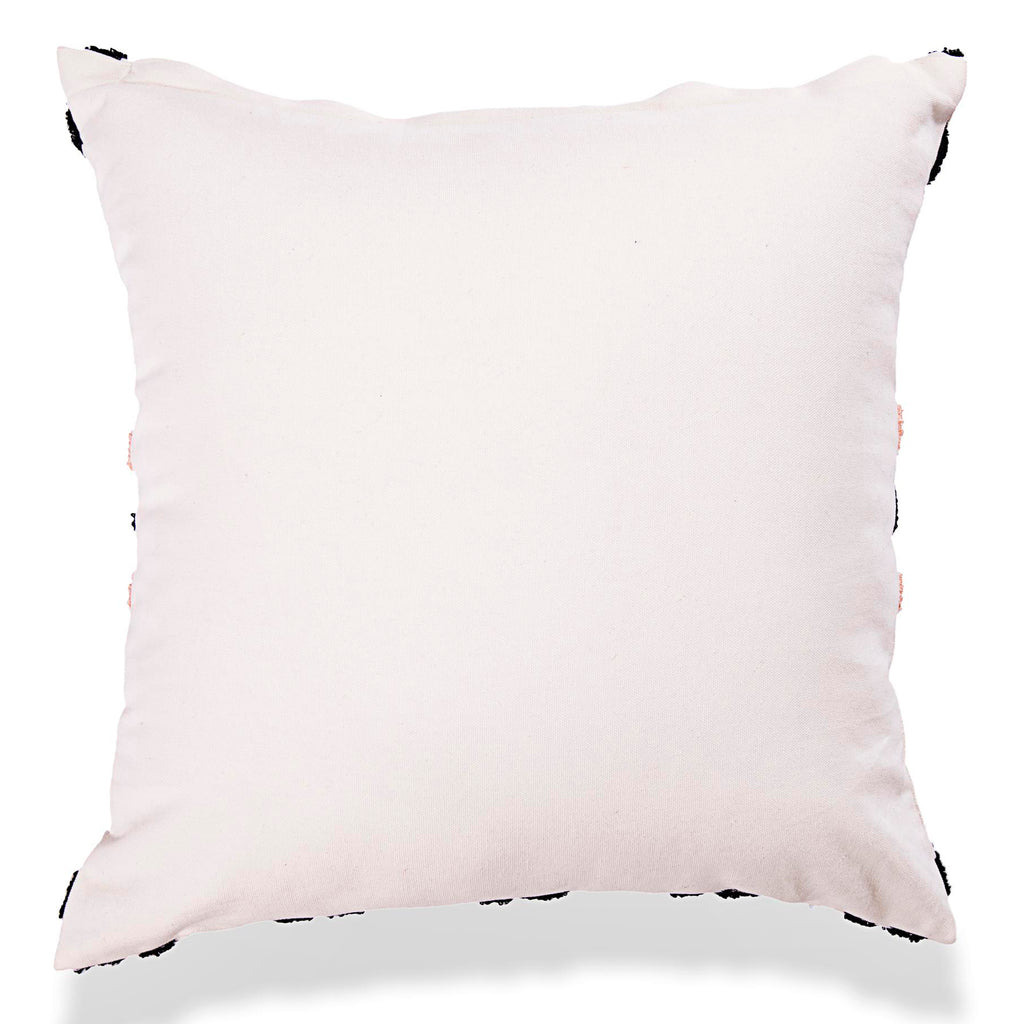 Designer Bohemian Embroidered Cotton Pillow Cover 18 X 18 Pillow