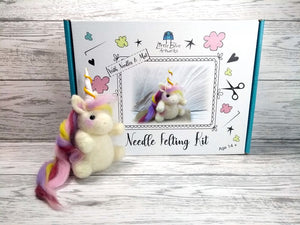 Needle Felt a Unicorn Craft kit