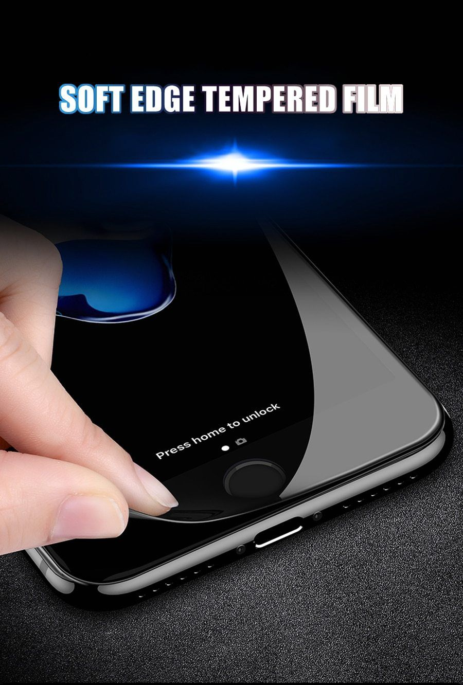9D Tempered Glass Screen Protector