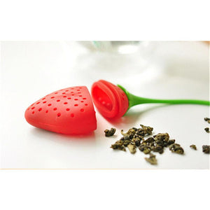 Cute Strawberry Silicone Tea Infuser