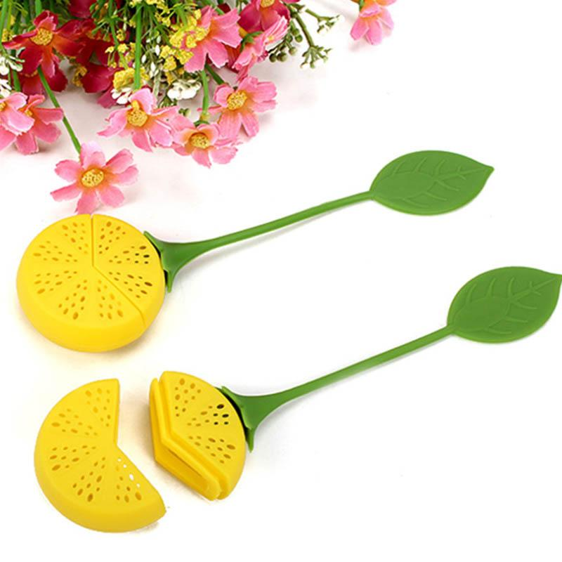 Cute Sunflower Silicone Tea Infuser