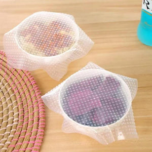 Reusable Stretchy Silicone Food Wrap
