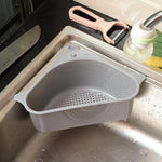 Triangular Sink Shelf Strainer