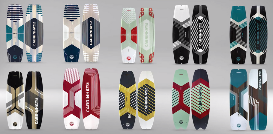 Types of Kiteboarding boards