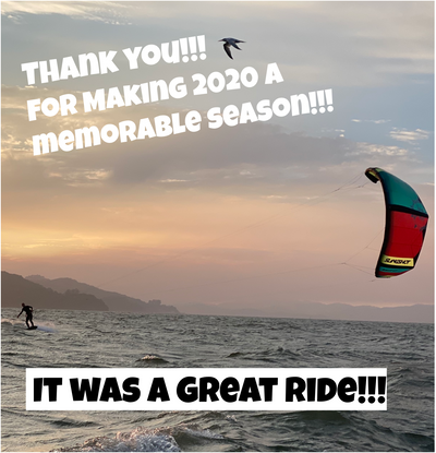 San Francisco's Kiteboarding Season is Coming to an End