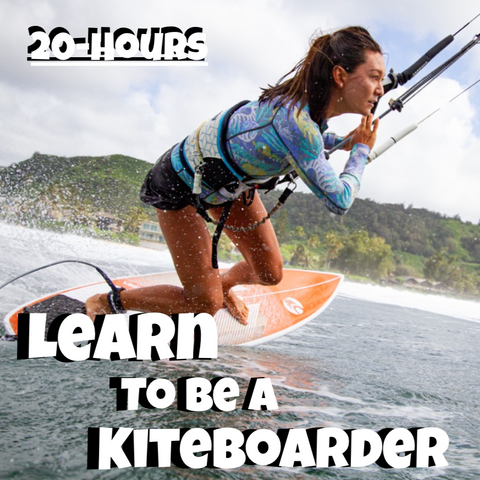 Learn to be The Kiteboarder (20-Hour Package)
