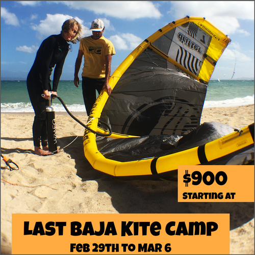 Last Baja Kiteboarding Camp - Strictly Kiteboarding