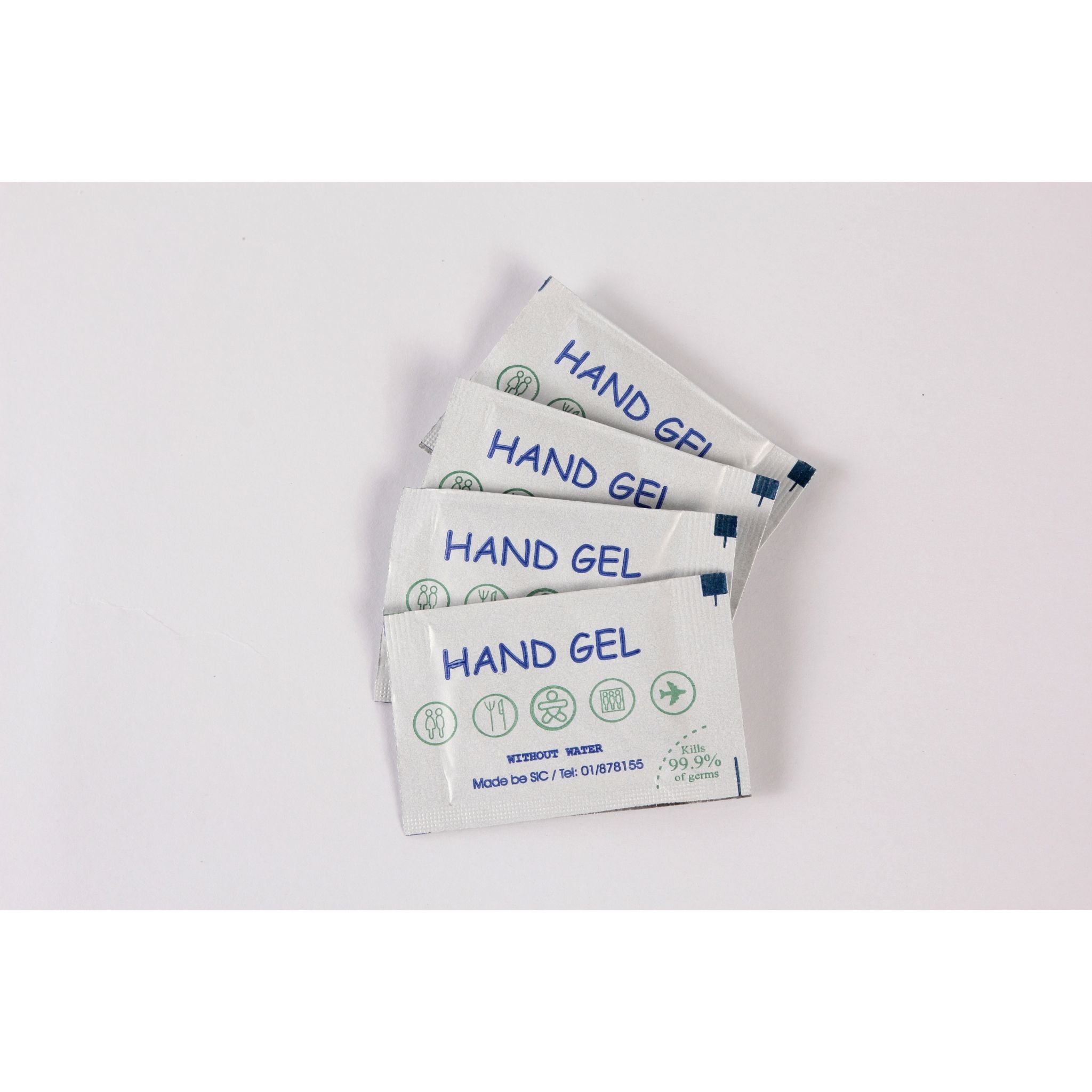 HAND SANITIZING GEL SACHET 1000PCS