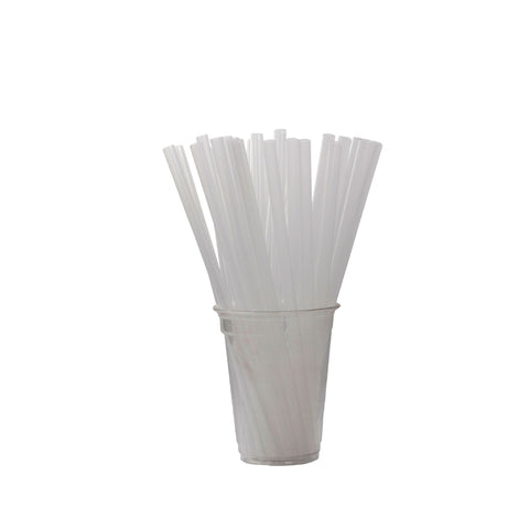 STRAWS 8MM STRAIGHT UNWRAPPED200PCS*50PKT