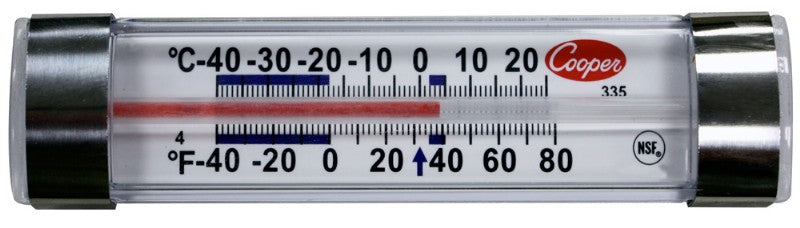 Refrigerator Freezer Thermometer-Horizontal