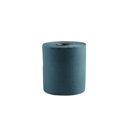 CENTERFEED BLUE PERFORATED 1PLY 6ROLL