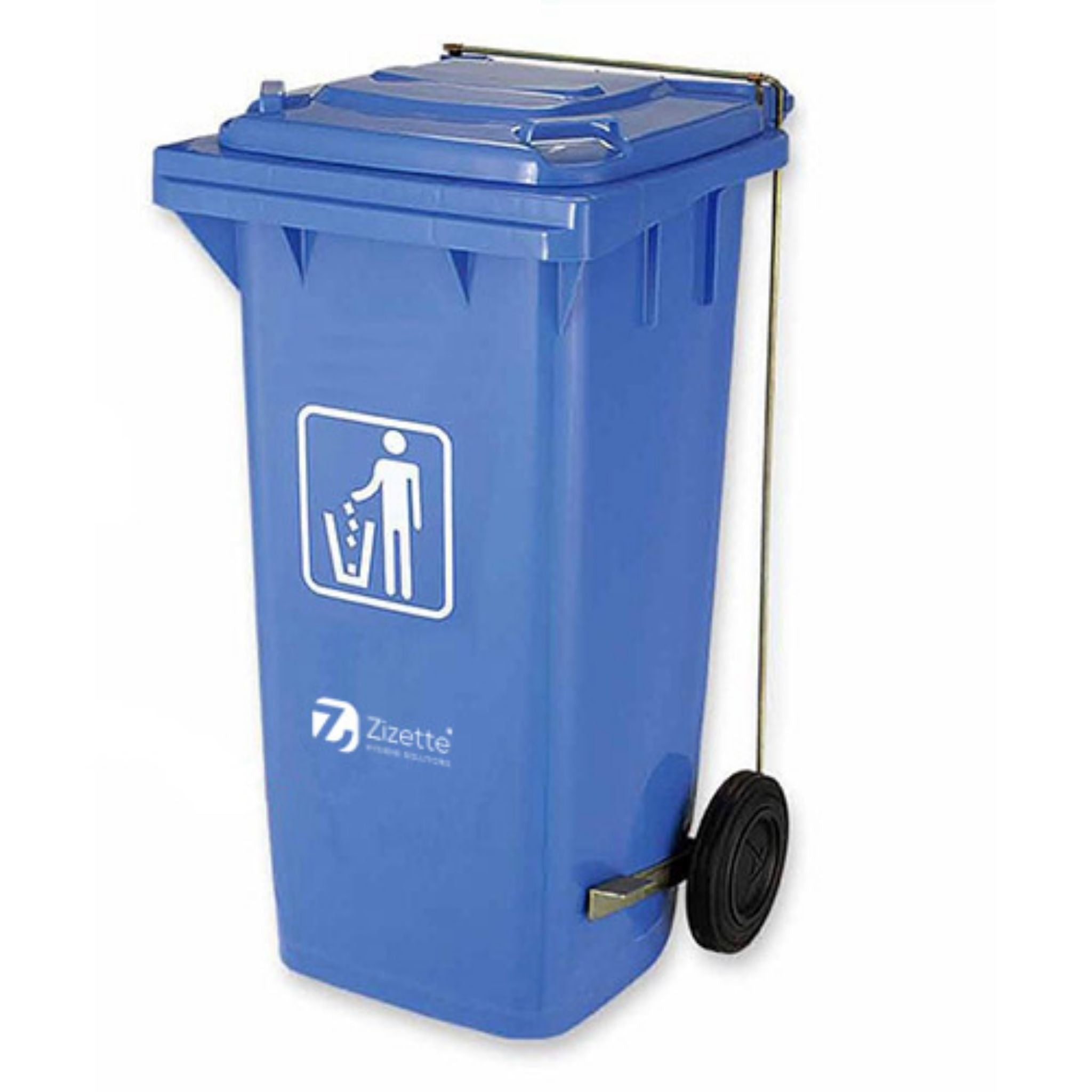 WASTE CONTAINER PEDAL & 2 WHEELS