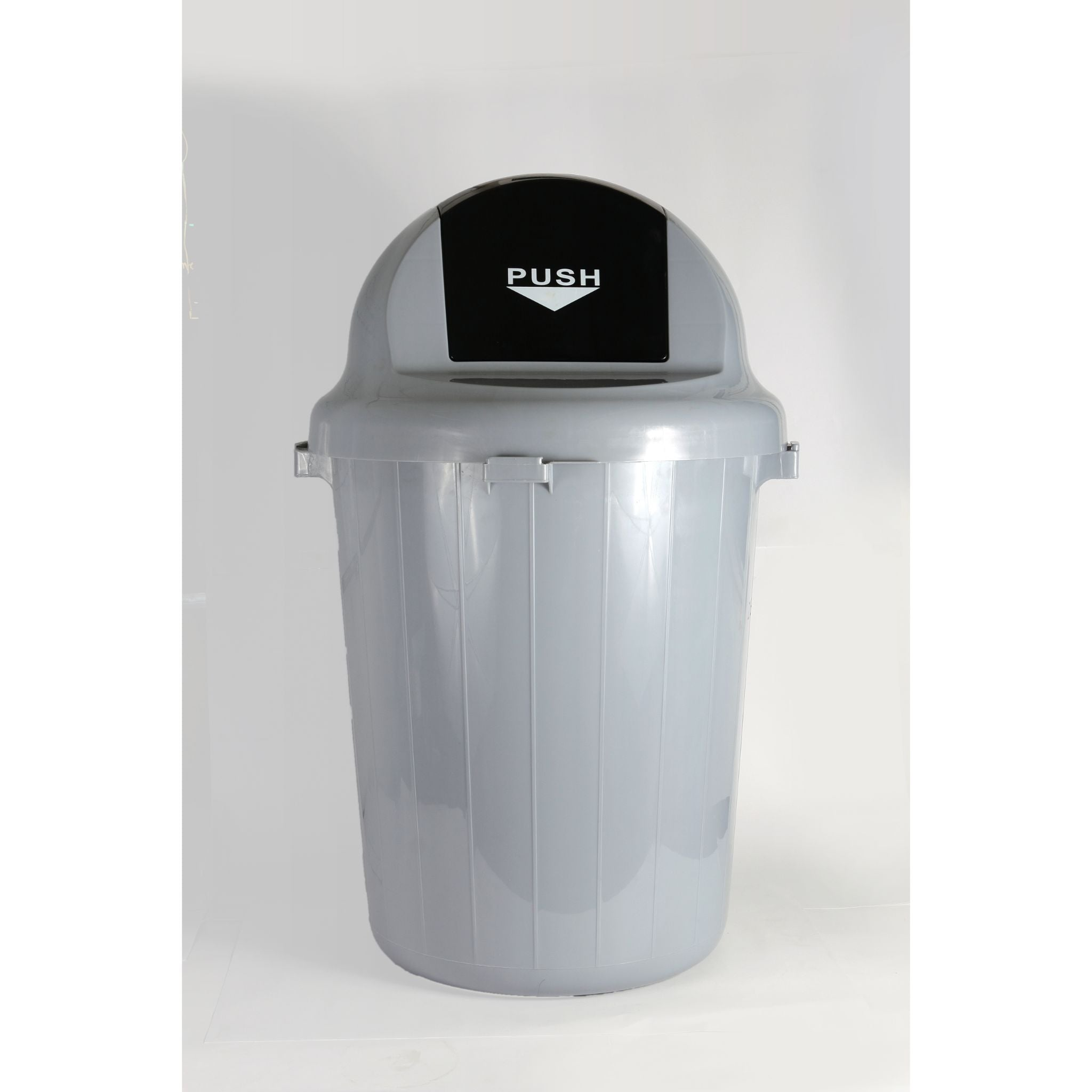WASTE CONTAINER ROUND PUSH ADVANCED