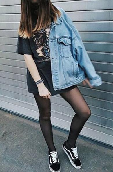 Cute baggy denim jacket