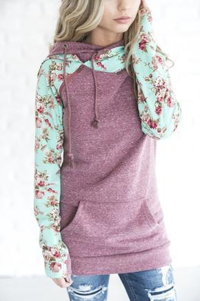 lovely flower sweatshirt