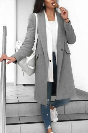 Winter Long Coat Style