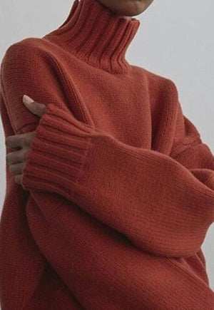 Knit Sweater Loose Pullover