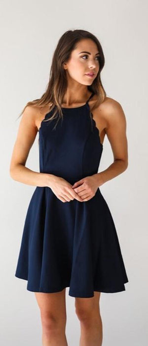 lovely navy formaldress