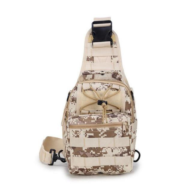 The Camouflage ACU Chest Shoulder Bag