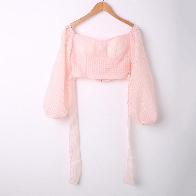 Croped Top Blouse