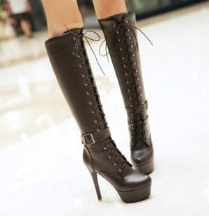 high heels boots Shoes