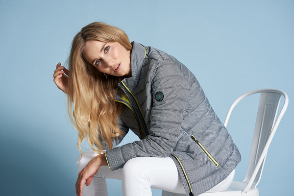 Jackets from recycled plastic bottles