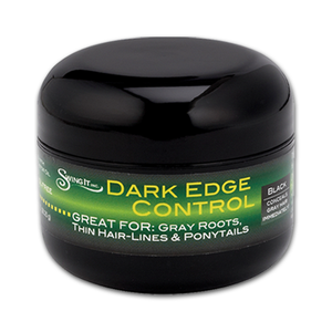 1 oz. Dark Edge Control | Dark Edge Control Hair Gel | Best Dark Edge Control Hair Gel