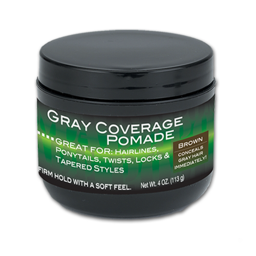 4 oz. Gray Coverage Pomade (Brown) | Gray Coverage Pomade | Best Gray Coverage Pomade