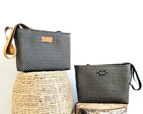 Mother's Day sale! Pay what you can and choose your discount. Sustainable purses. The best gift for Mother's Day. Fashion Designer Mavis by Herrera