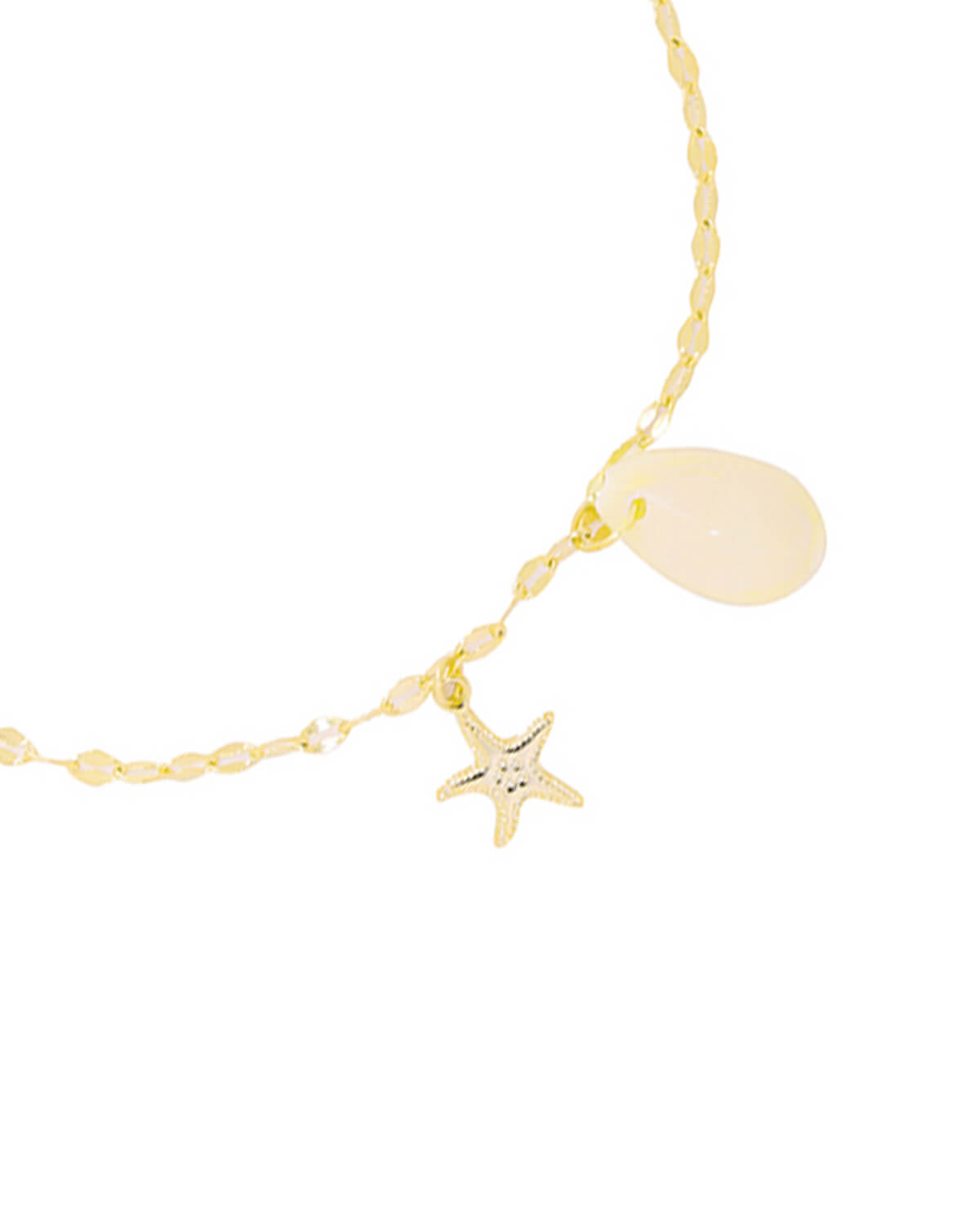 Sea Shell Ankle | Gold