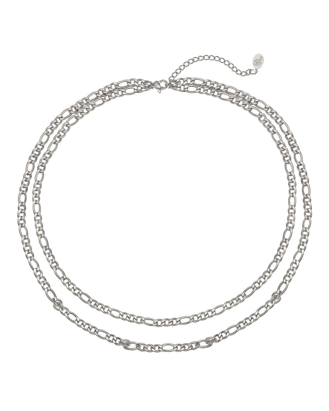 Double Chain | Silver