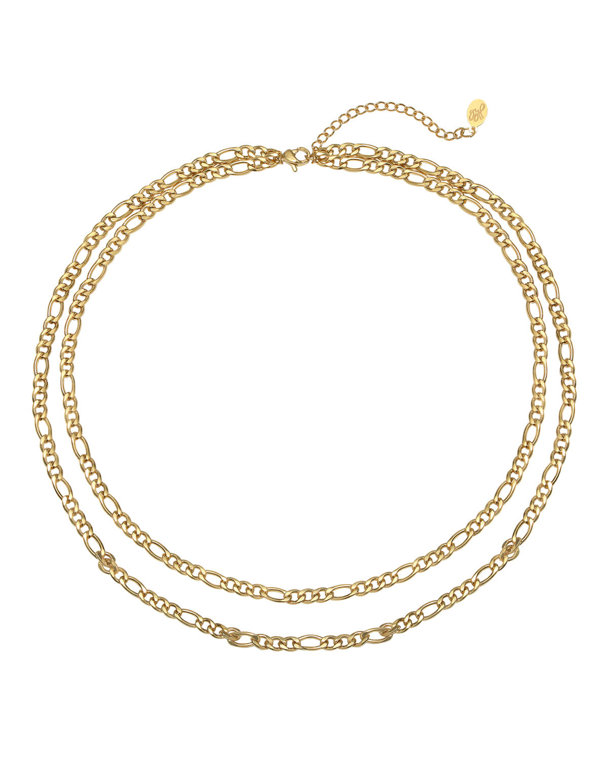 Double Chain | Gold