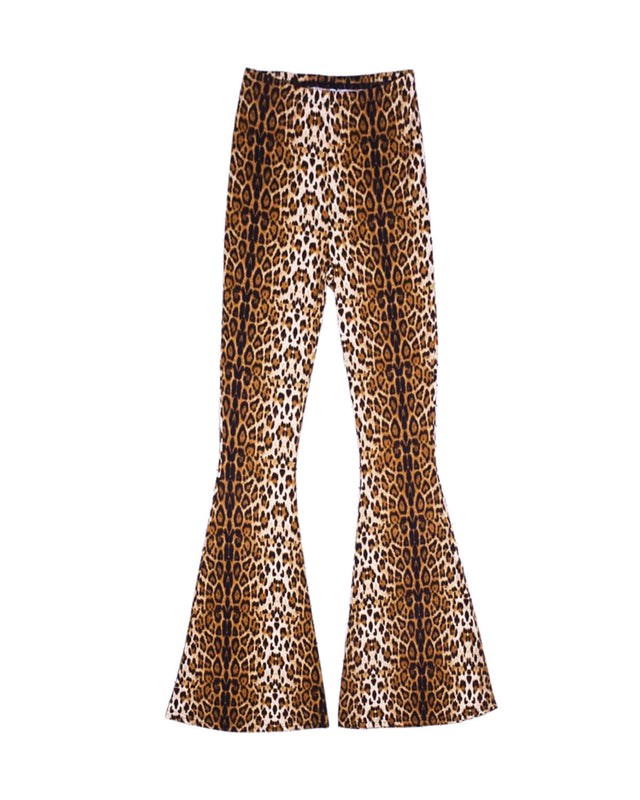 Leopard Flared